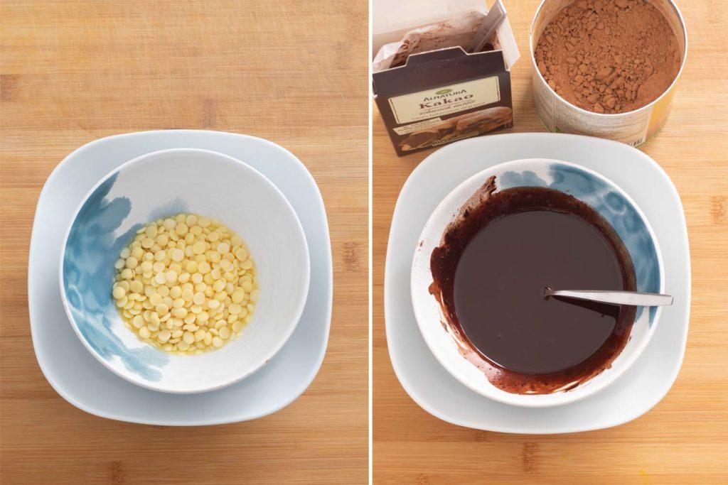 Vegan Christmas Chocolate Recipe Steps